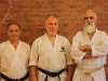 Fred Serricchio Sensei, John Mullin Sensei, Mazhari Sensei