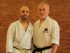 Payman Mazhari of SKC with Mullin Sensei (Chief Instructor: WTKO Staten Island)